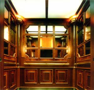 Декоративное устройство лифта
