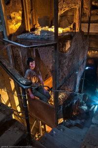 Необычный лифт, подъемник