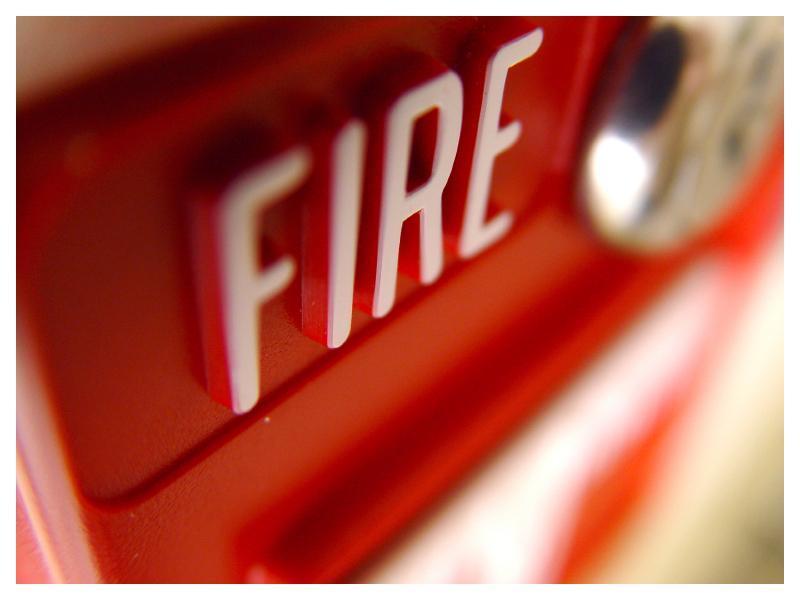 пожар в лифте